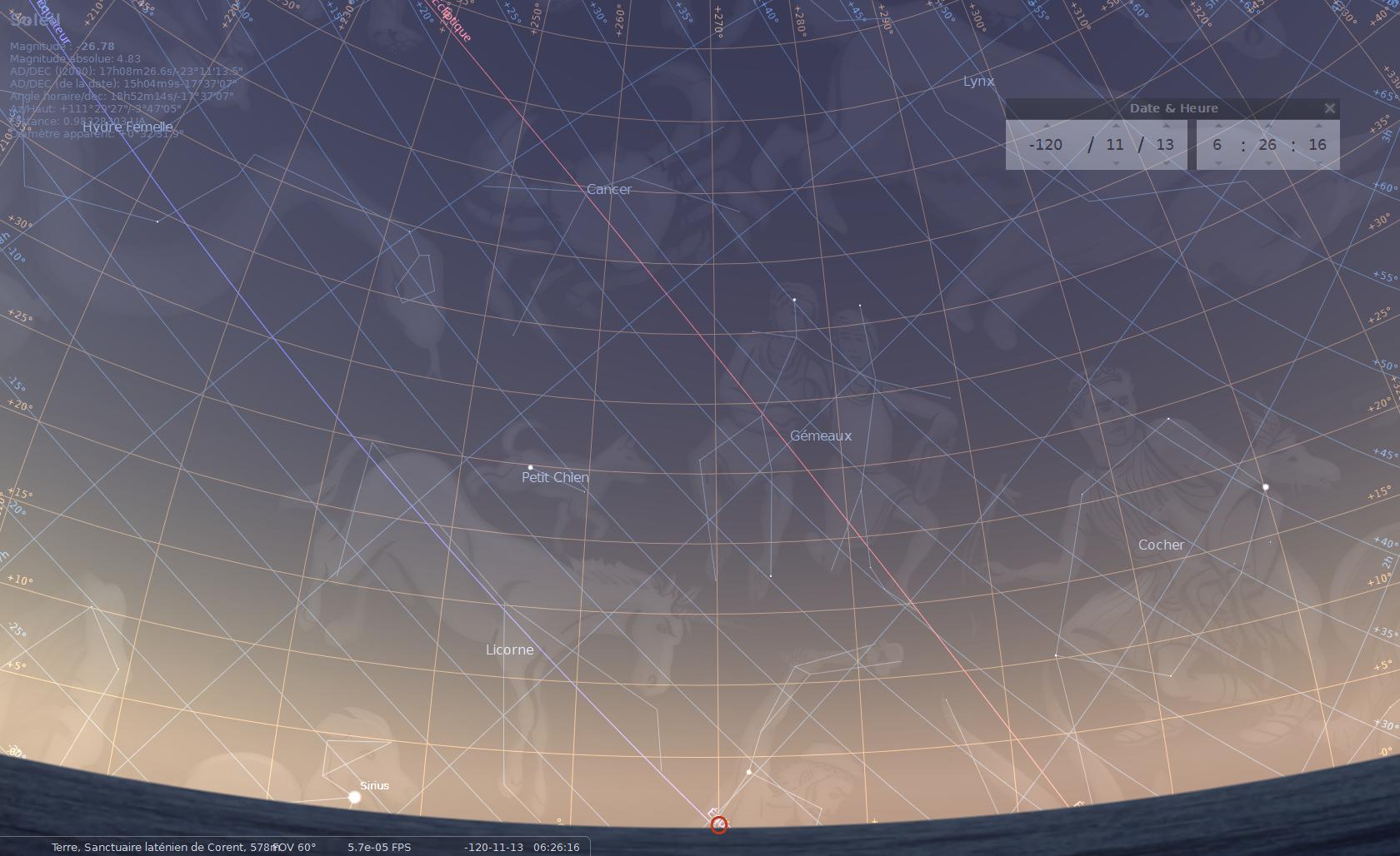 définition crépuscule astronomique